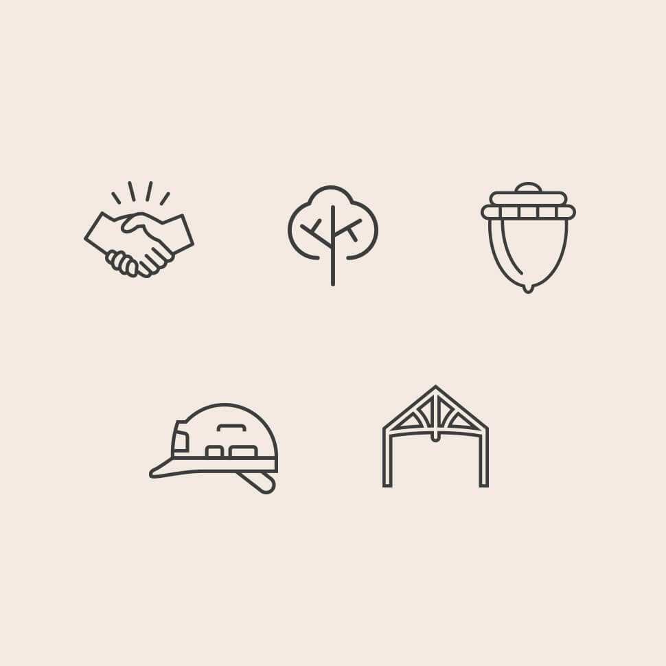 Icons for Merry Oak
